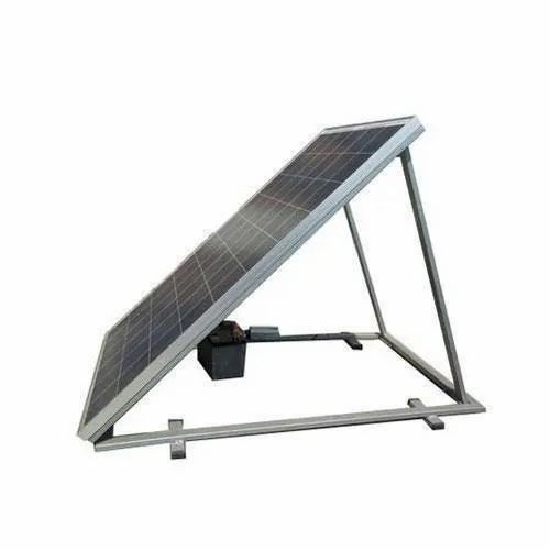Galvanized Iron GI Solar Panel Stand, Thickness: 2-8mm