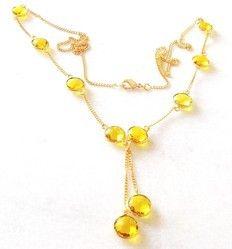Jewelry Bezel Necklace