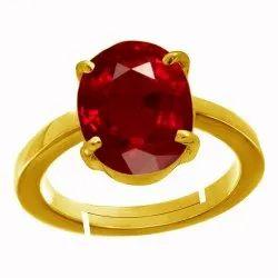 Manik Stone Ring Menand Women Asthdhatu Gemstone