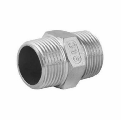 Stainless Steel Socket Hexagon Nipple 316L