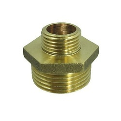 Brass Reducing Hose Nipple