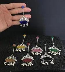 Hand Made Stone Earrings