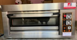 Gas Single Deck Oven Full Stainless Steel Body
