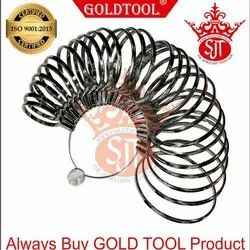 Gold Tool Bangle Gauges