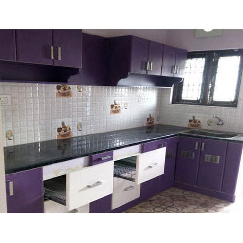 Kutchina Modular Kitchen Price At Rs 75000 Number: PVC Laminated Modular Kitchen At Rs 21000 /box