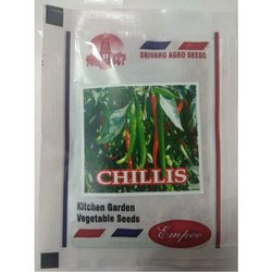 Empee Chilli Seeds, Pack Type : Packet