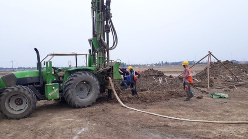 Tractor Mountain Rotary Piling Services
