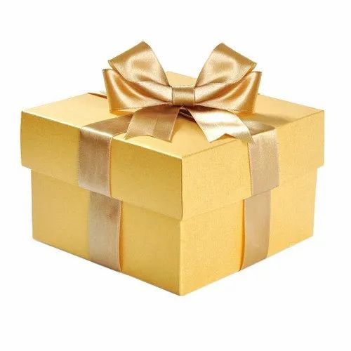 Square Golden Gift Boxes, For Packaging