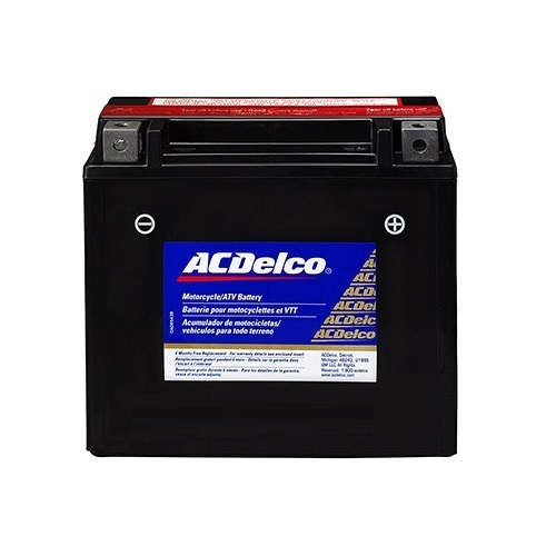 Ac Delco Battery >> Acdelco Motorcycle Battery Battery Type Tubular Rs 10000 Piece