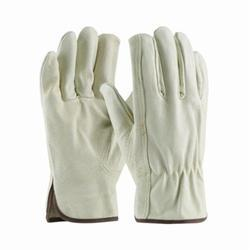 Leather Canvas Gloves