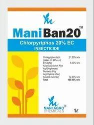 Maniban-20 Chlorpyriphos 20% EC