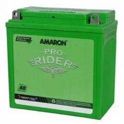 Amaron Pro Bike Rider Two Wheeler Battery 12V 5 AH, Model Name/Number: Varies