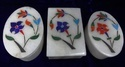 Oval Marble Inlay Box