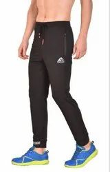 Black Track Pant with Belt and Grip