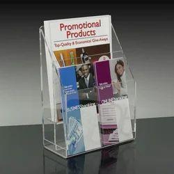 Acrylic Brochure Magazine Stand