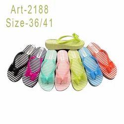 e337f425a2e4 Santro Ladies Rubber Flip Flop