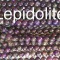 Lapidolite Gemstone Beads