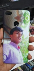Customized Mobile Cover- Your Own Image Photo Back