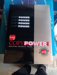 White Bilt Copy Power A4 Size Printing Paper, Packaging Size: 500 Sheets Per Pack, Packaging Type: 10