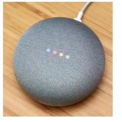 Google Nest Mini Smart Voice Activated Speaker, Charcoal