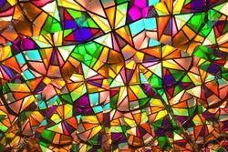 Colored Glass at Navi Mumbai