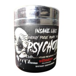Powder Insane Labz Psychotic Pre Workout for Insane Energy