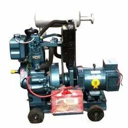 5 kW Low Noise Bajaj-M Diesel Generator Set