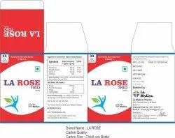 La Rose Capsules, Packaging Type: Plastic Bottle