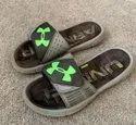 Black Rubber Flip Flops Slippers
