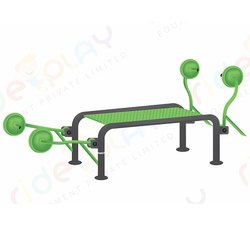 Bench With Fixed Dumbbell