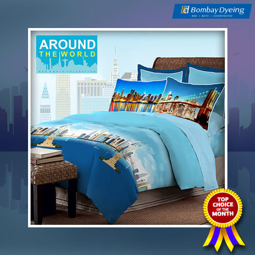 Bombay Dyeing Bed Sheets