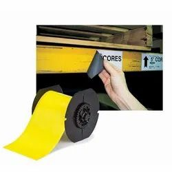 Yellow Plain B30 Series Magnetic Labels, Packaging Type: Roll