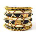 Indian Handcraft Traditional Sari Wear Silk Thread Bangles