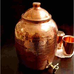 Copper Water Handa for Home, Capacity: 5 Litre