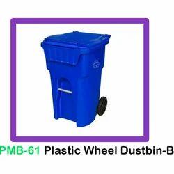 Plastic Wheel Dustbin