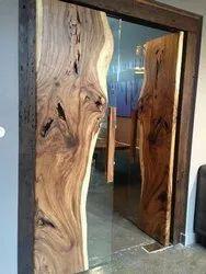Solid Wood Live Edge Door