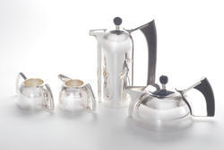 Silver Coffee Set in AK SPL Plain Design