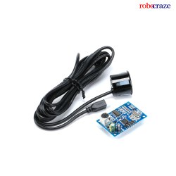 Robocraze Jsn-Sr04T Waterproof Ultrasonic Distance Transducer Sensor for Arduino