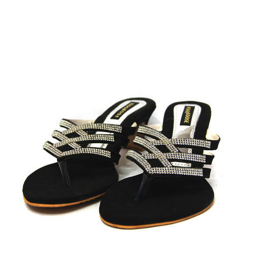 Ladies Party Wear Sandal, Size: 5 to 12