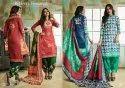 Ladies Fancy Cotton Suit Dress Material