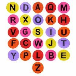 Alphabetical Spot Markers A-Z
