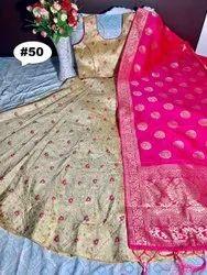 Thankar Jacquard Designer Banarasi Silk Lehenga Choli