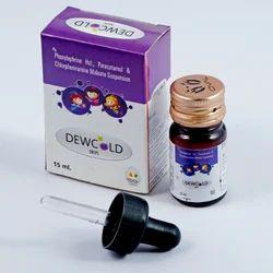 Phenylephrine HCL Paracetamol Suspension