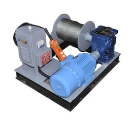 Portable Power Winch Machine