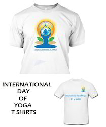 International Day of Yoga T Shirts