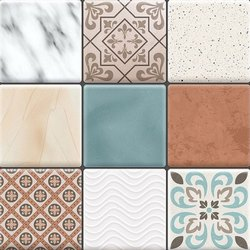 Glossy Mix Floor Tile
