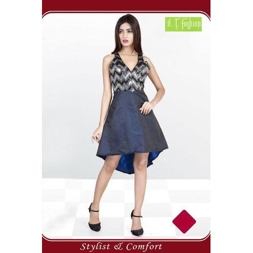69140acd8d36 Ladies Sleeveless Party Wear Fancy Midi, Rs 1000 /piece, V.T. ...