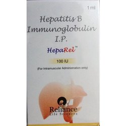 Heparel Hepatitis B Immunoglobulin 100iu