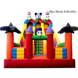Outdoor Inflatable Castle Slide
