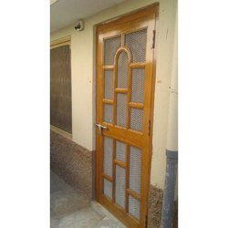 Hari Om Solid Wood Solid Wooden Door, For Home And Hotel